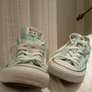 Converse Shoes - Size womens 9 Mint Green Converse All Star
